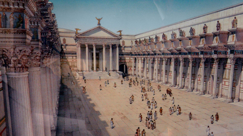 FORUM_NERVA_1ER_SIECLE
